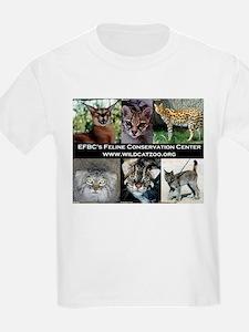 Small Wild Cats Kids T-Shirt