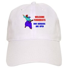 WELCOME TERRORISTS Baseball Cap