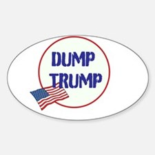 Dump Trump, anti Trump, Decal