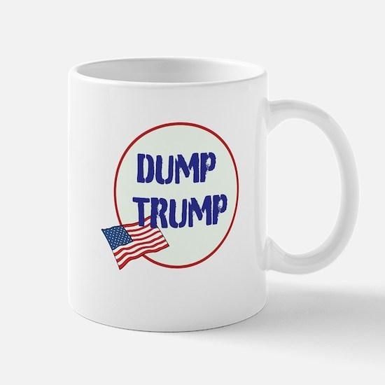 Dump Trump, anti Trump, Mugs