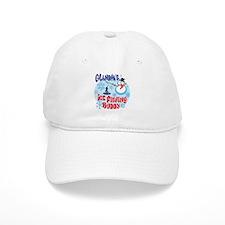 Grandpa's Ice Fishing Buddy Baseball Cap