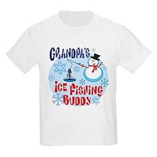Grandpa's Ice Fishing Buddy T-Shirt