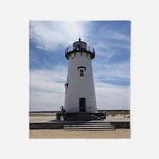 Cape cod lighthouses Throw Blanket