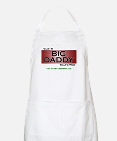 Cuz I'm Big Daddy That's Why (red) BBQ Apron