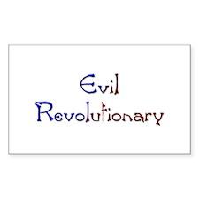 Evil Revolutionary Rectangle Decal