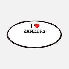 I Love ZANDERS Patch