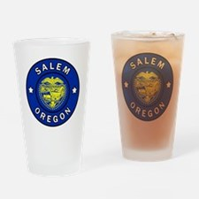 Cool State of jefferson flag Drinking Glass