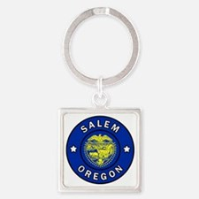 Cute Mill valley Square Keychain