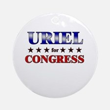 URIEL for congress Ornament (Round)