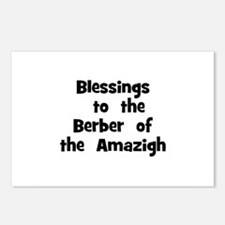 Blessings  to  the  Berber  o Postcards (Package o