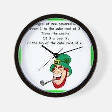 limerick Wall Clock