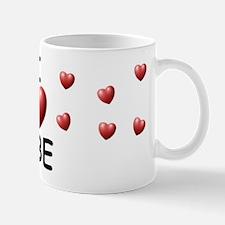 I Love Abe - Mug