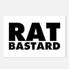 Rat Bastard Postcards (Package of 8)
