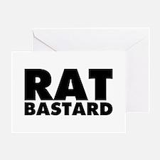 Rat Bastard Greeting Card