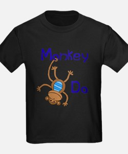 Monkey Do blue T-Shirt