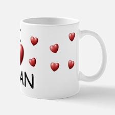 I Love Adan - Mug
