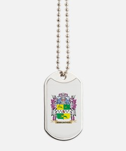 Hargroves Coat of Arms (Family Crest) Dog Tags