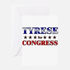 TYRESE for congress Greeting Card