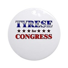 TYRESE for congress Ornament (Round)