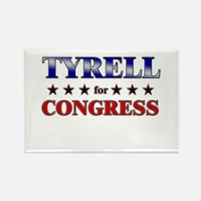 TYRELL for congress Rectangle Magnet