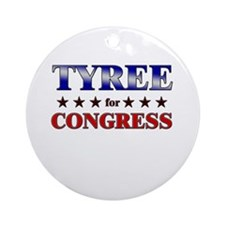 TYREE for congress Ornament (Round)
