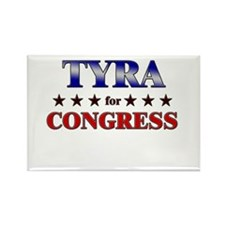 TYRA for congress Rectangle Magnet