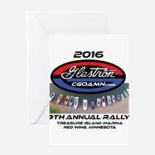 2016 Glastron Classic Meet Greeting Cards