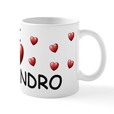 I Love Alejandro - Mug