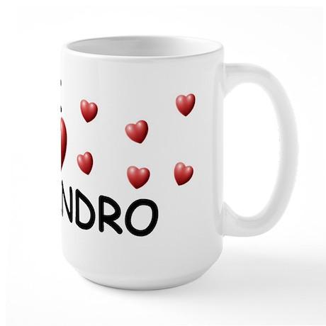 I Love Alejandro - Large Mug
