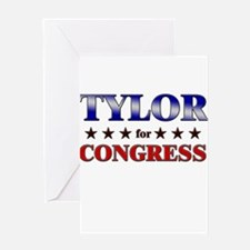 TYLOR for congress Greeting Card