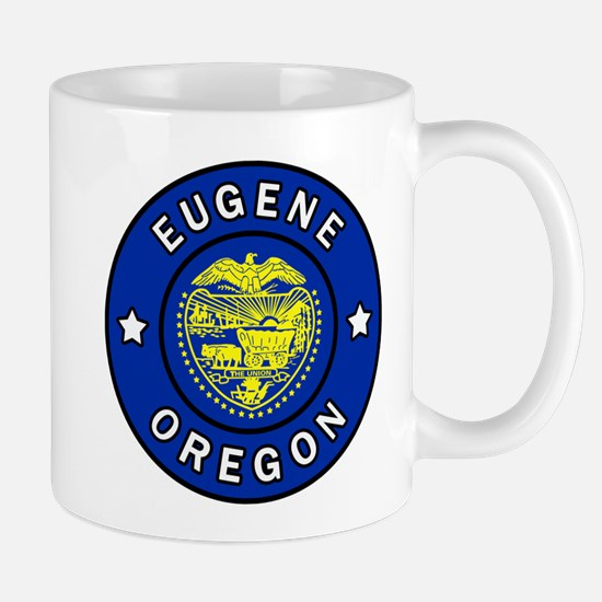 Eugene Oregon Mugs