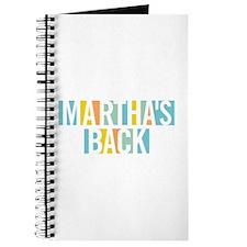 Martha's Back Journal
