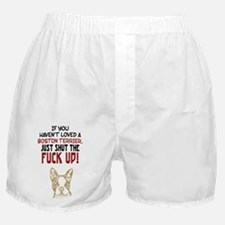 Boston Terrier Boxer Shorts