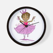 Ballerina Dancer Wall Clock