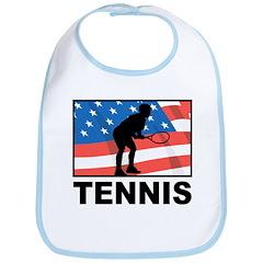 Tennis In America Bib