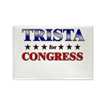 TRISTA for congress Rectangle Magnet (10 pack)