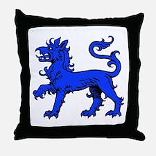 East Kingdom Badge Throw Pillow
