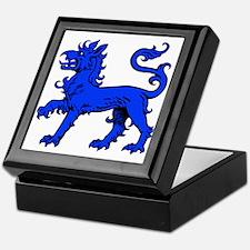 East Kingdom Badge Keepsake Box