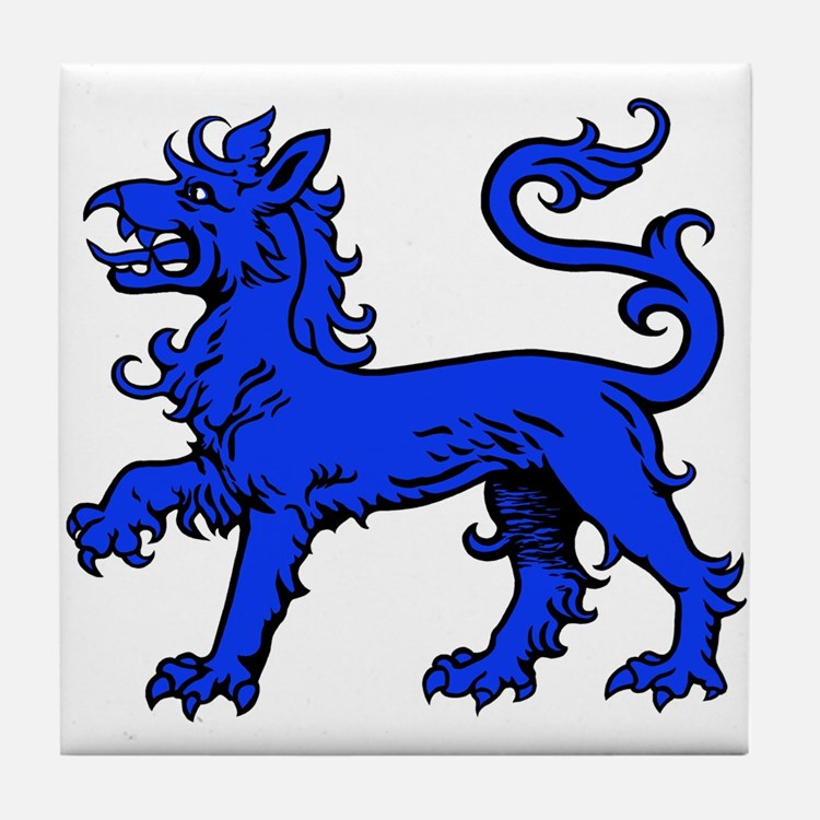 East Kingdom Badge Tile Coaster