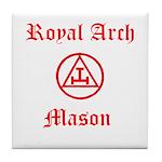 Royal Arch Mason Tile Coaster