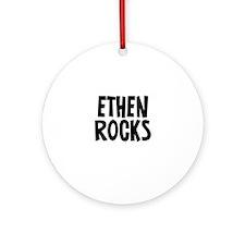 Ethen Rocks Ornament (Round)