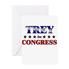 TREY for congress Greeting Card