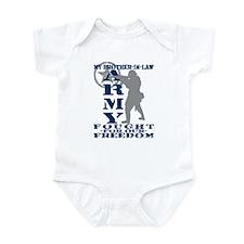 Bro-n-Law Fought Freedom - ARMY  Infant Bodysuit