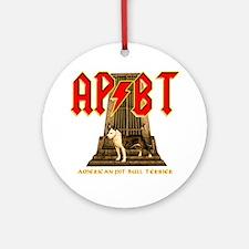 Pit Bull Amstaff ornament Ornament (Round)