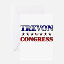 TREVON for congress Greeting Card