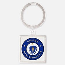 Cute Chelsea Square Keychain