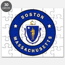 Boston Massachusetts Puzzle