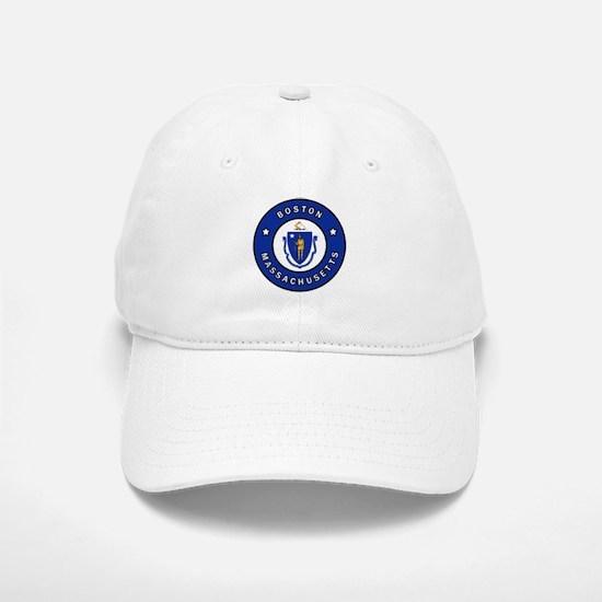 Boston Massachusetts Baseball Baseball Cap