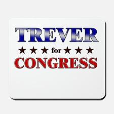TREVER for congress Mousepad