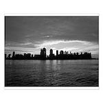 Lower Manhattan Sunrise Poster